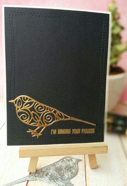 bharati nayudu CAS foil bird card