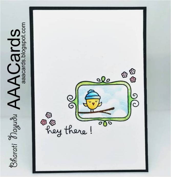 Bharati Nayudu Lawn Fawn stamps Frames and seasons tweetings AAA Cards CAS Cards.jpg