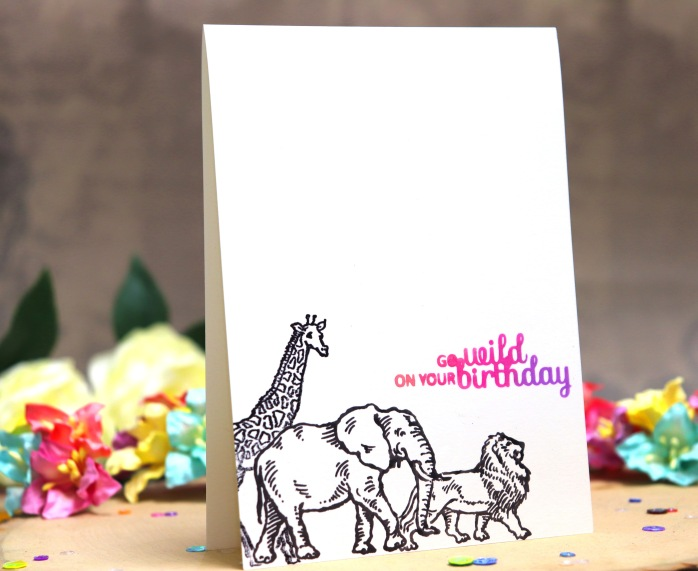 bharati birthday handmade greeting card stampendous africa animal 3.JPG